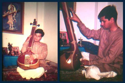 tuning the tanpura